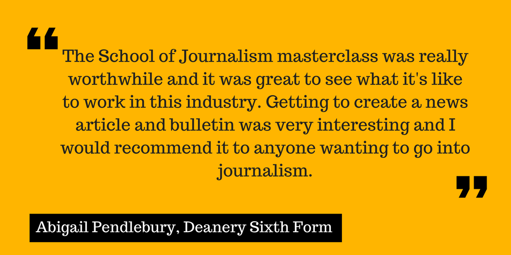 journalism degree Manchester