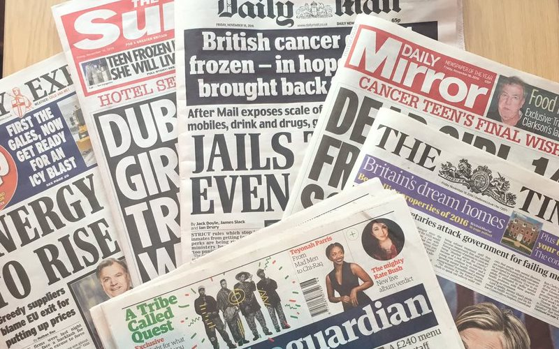 newspapers for building your journalism portfolio