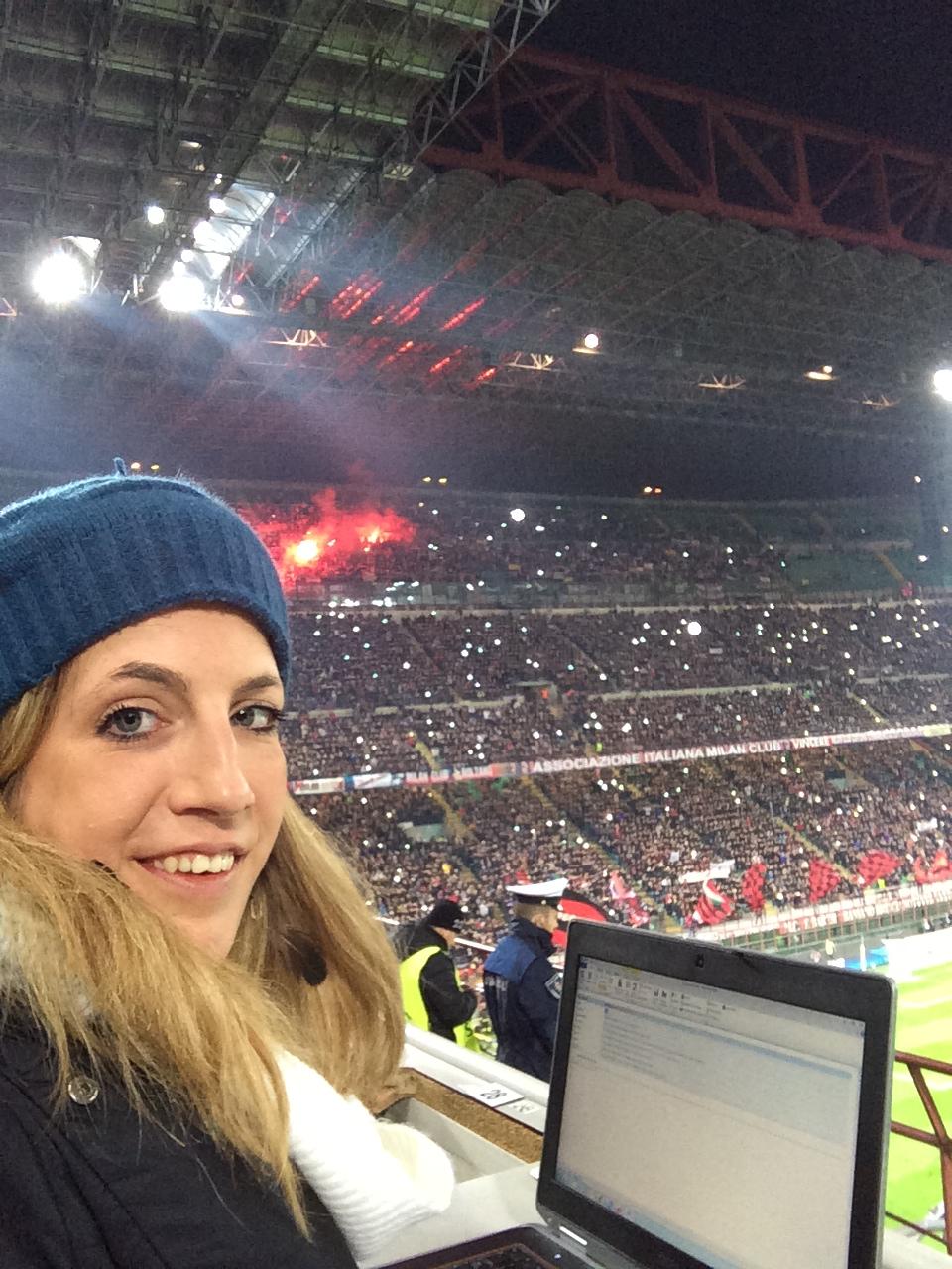 sports journalist