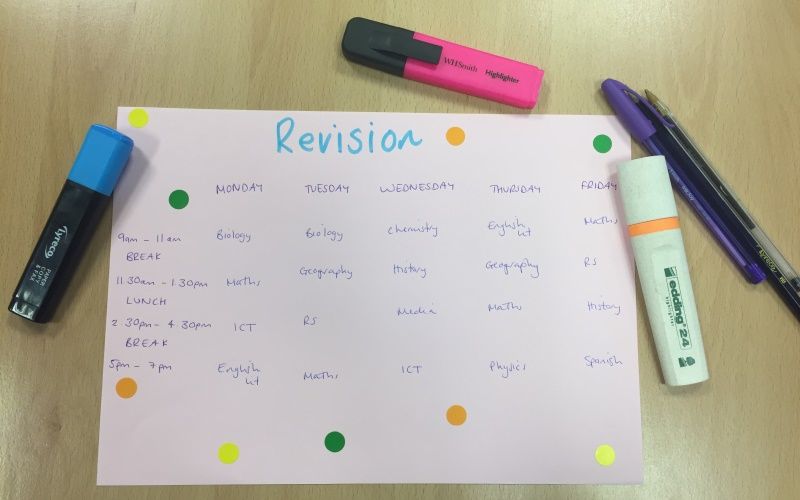 Top revision tips: how to prepare for your exams