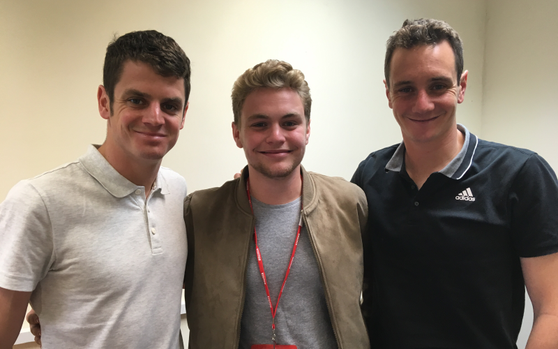 'The Brownlee brothers to Sale FC': My first term at The School of Journalism