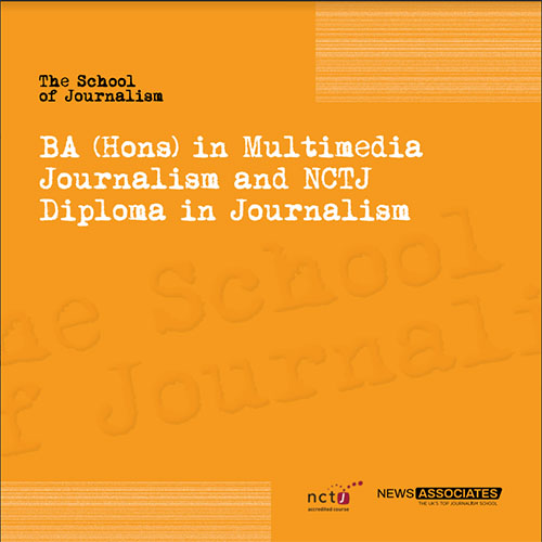 School of Journalism Brochure - July 2018