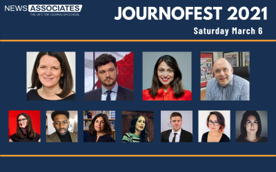 The School of Journalism presents JournoFest 2021 – Full lineup revealed