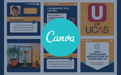 How to use Canva as a journalist